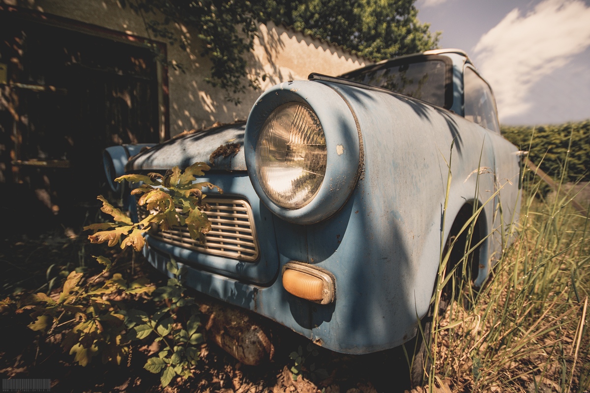 Trabant Lost Place