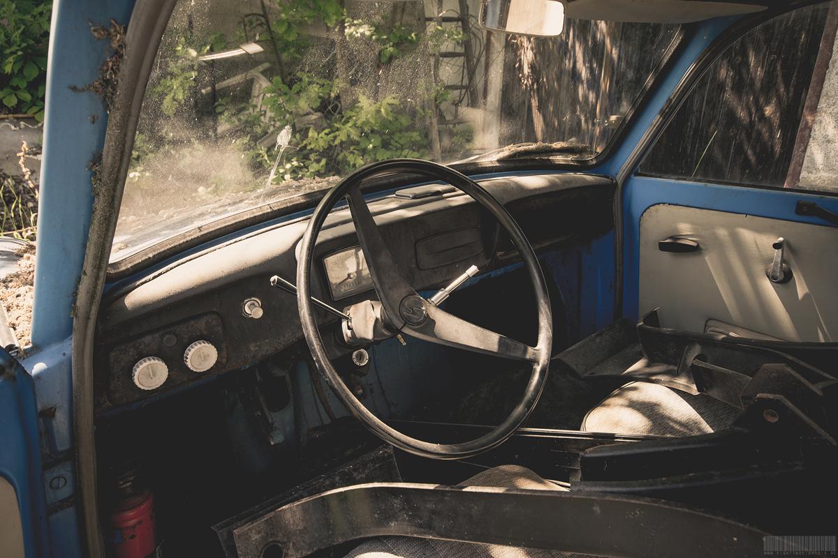Cockpit Trabant