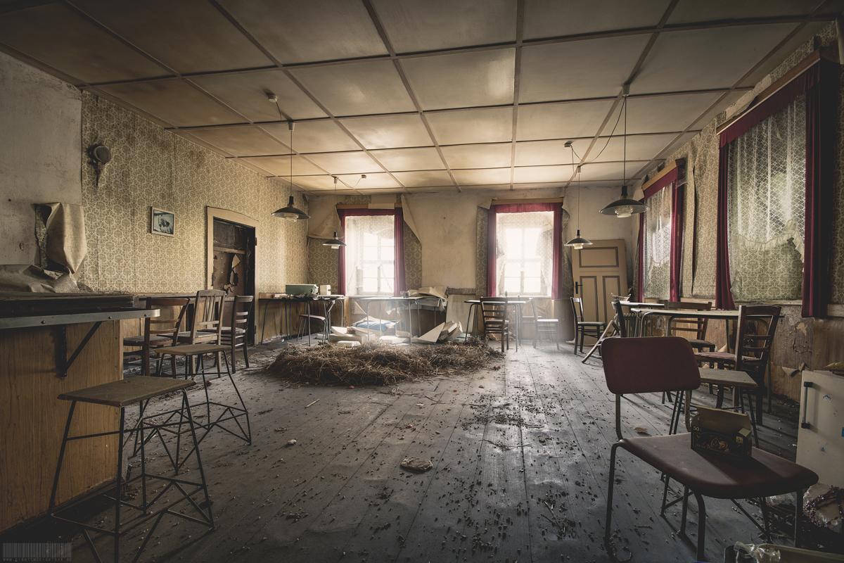 verlassenes Gasthaus