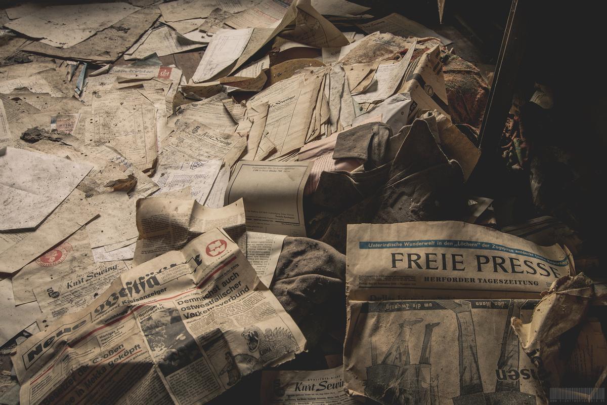 Zeitungen von 1938