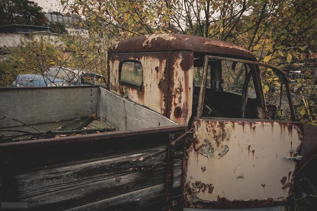 altes Fahrzeug