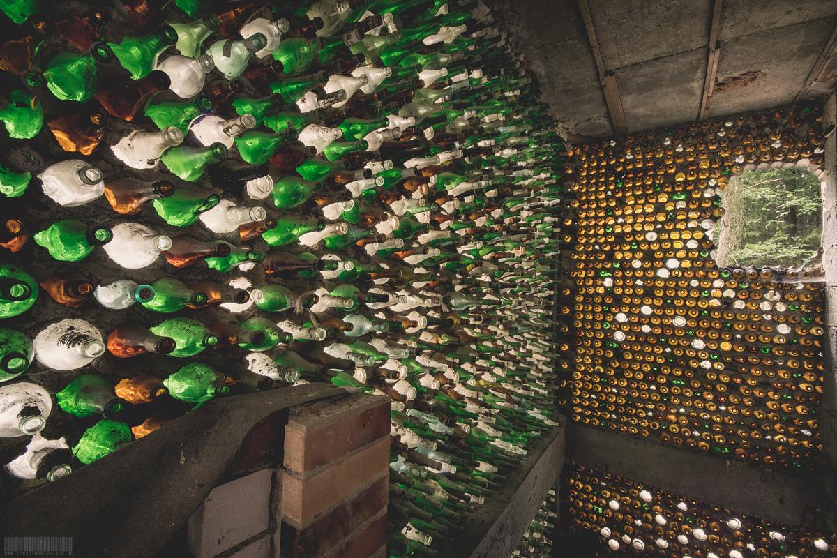 Das verlassene Flaschenhaus