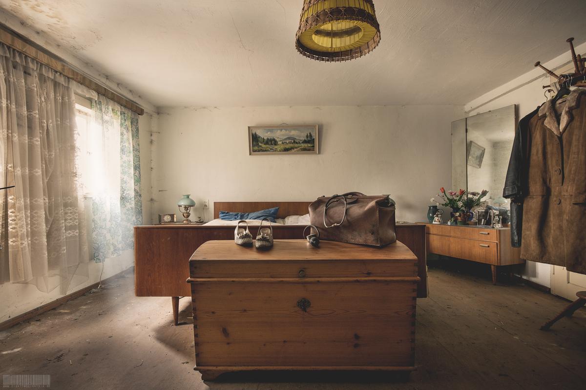 Schlafzimmer der Krankenschwester