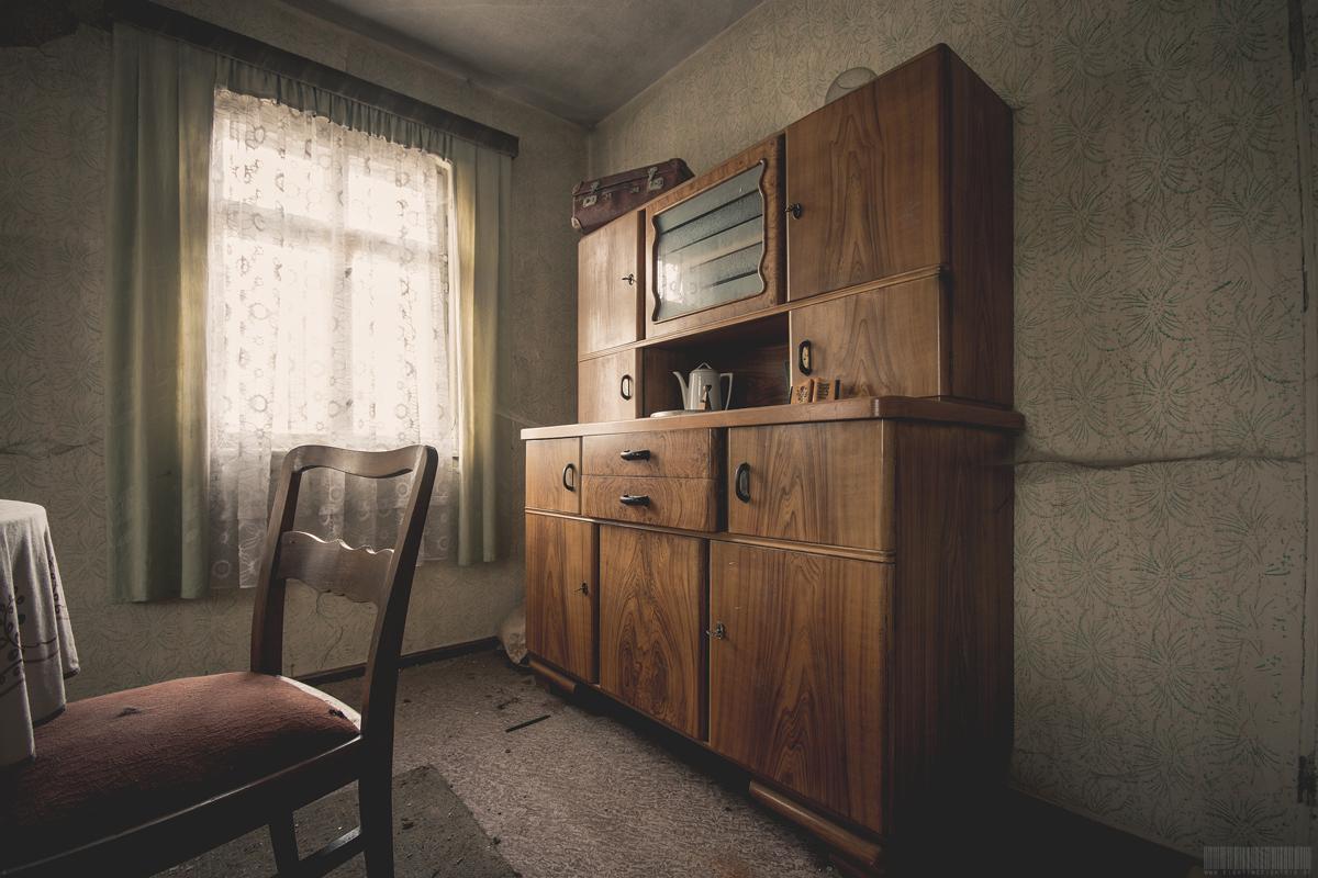 Der Wohnzimmerschrank
