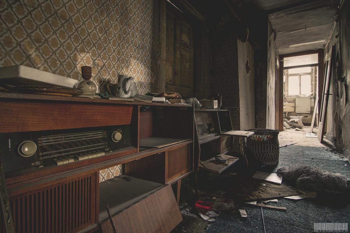 Der Flur im Obergeschoss