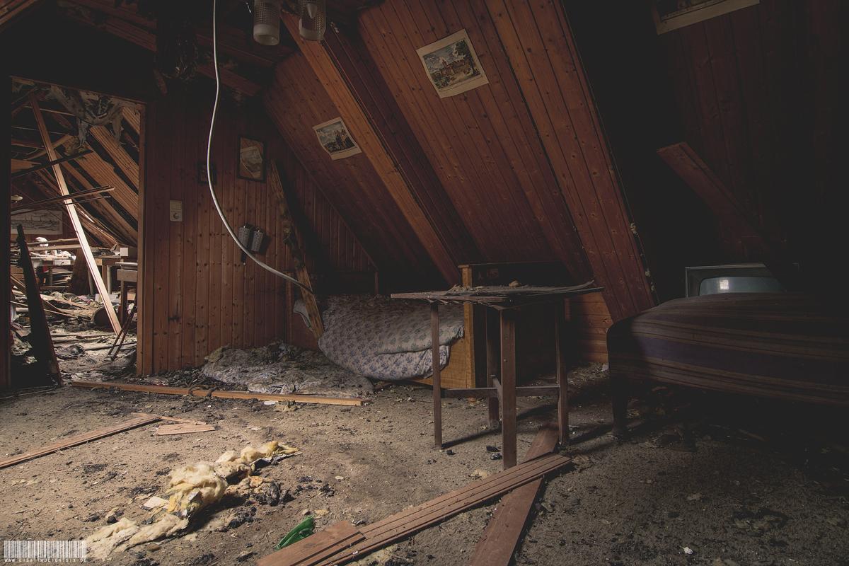Betten unter dem Dach