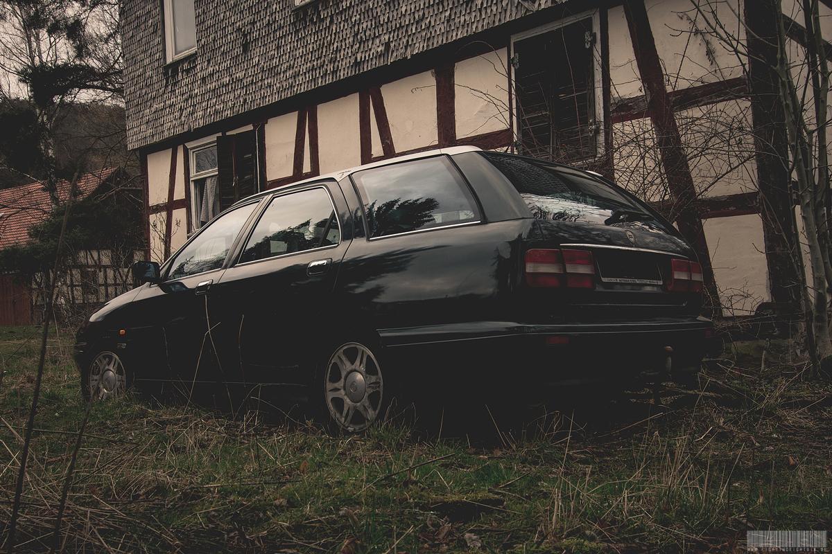 Das Auto der Tat des Armin Meiwes