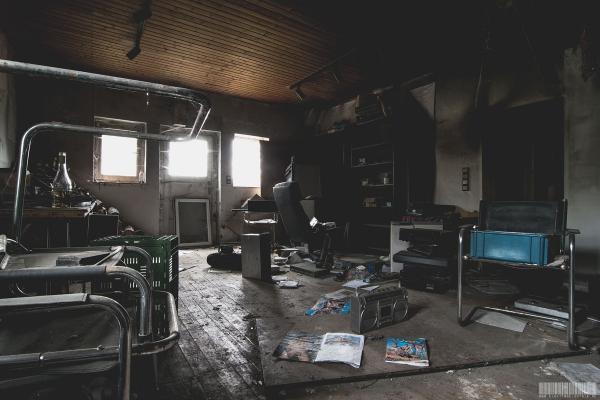 Sein Bastelzimmer