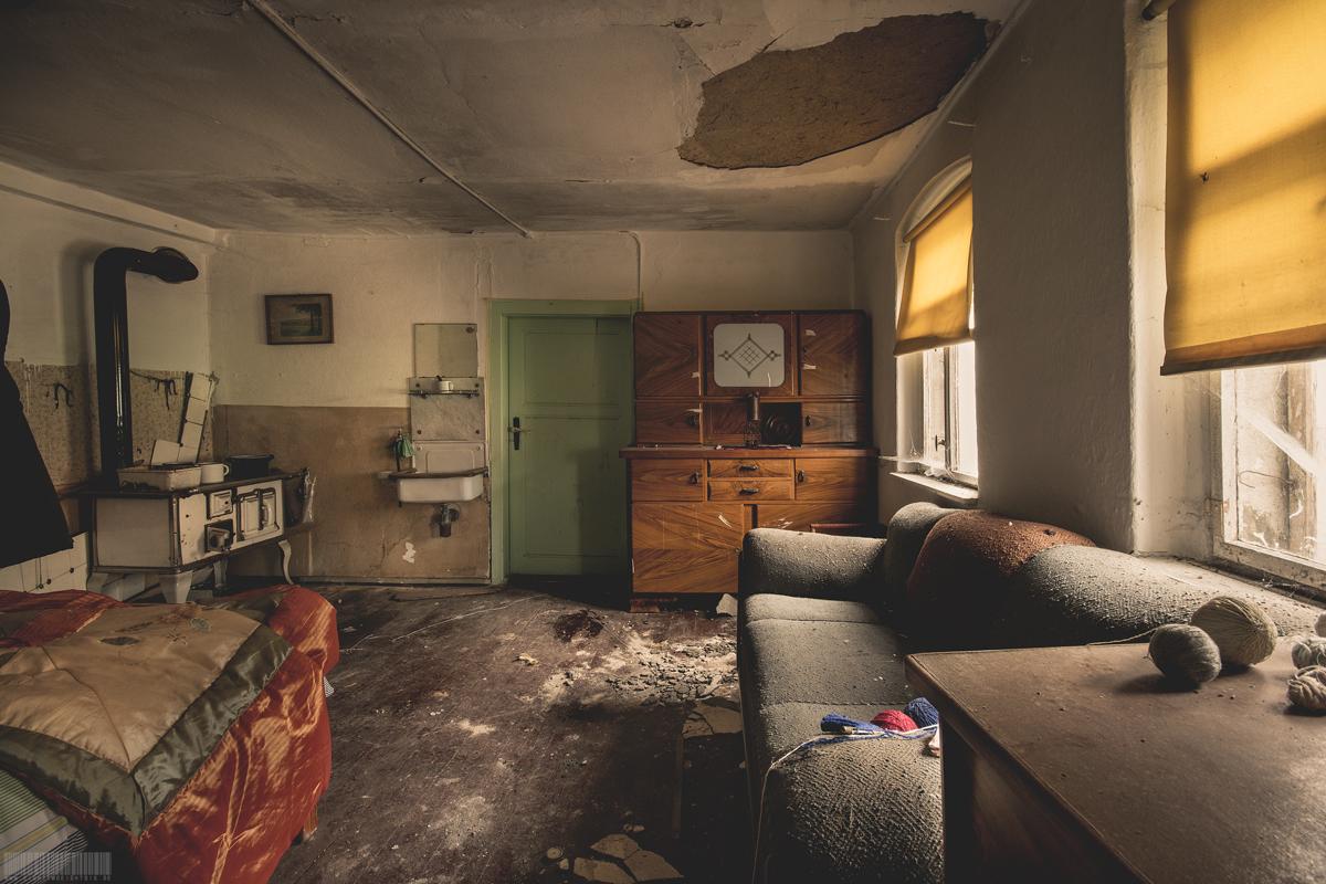 Wohnzimmer des Tischlers