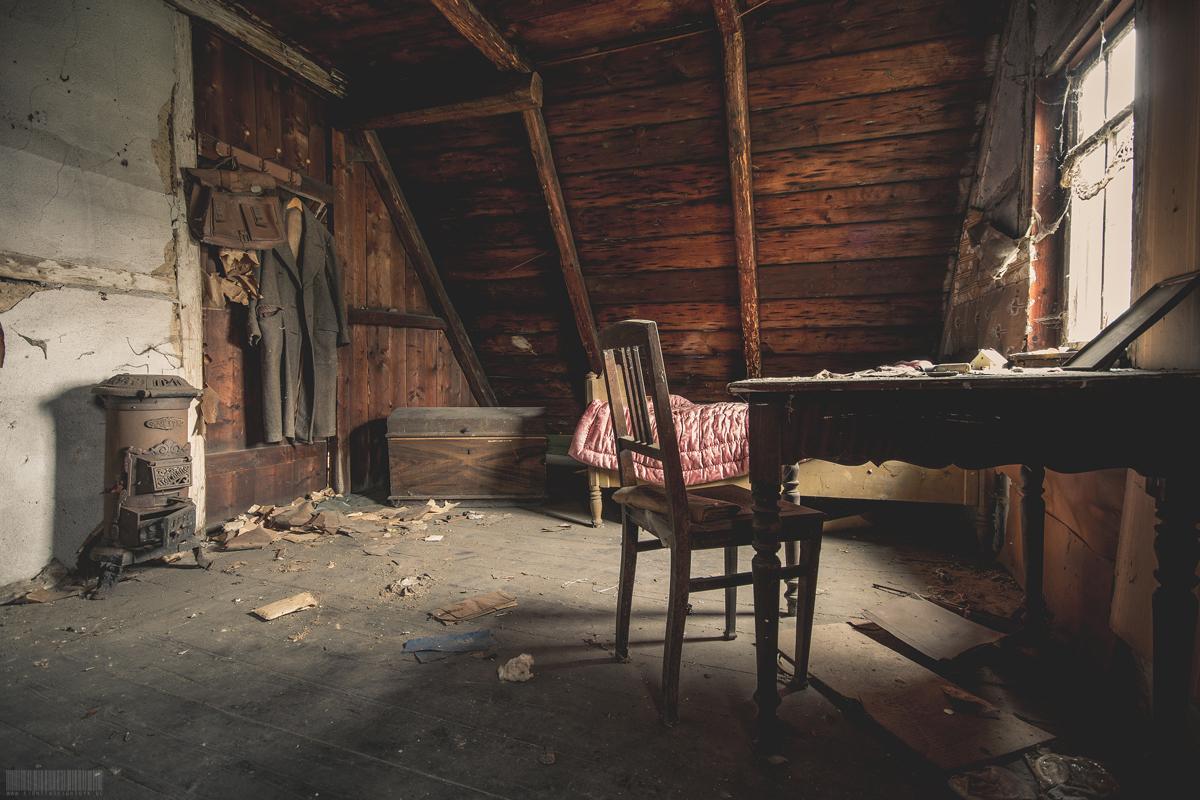 Zimmer unter dem Dach