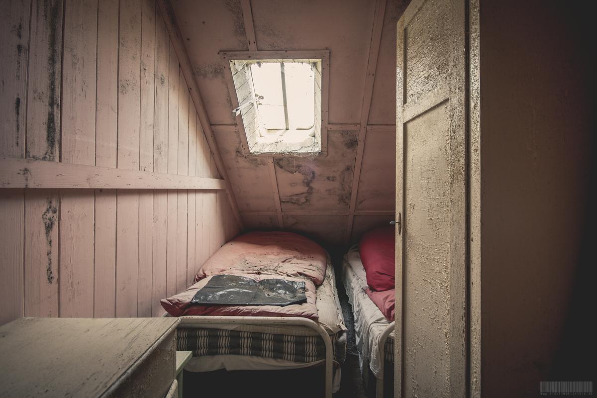 Schlafkammer unterm Dach