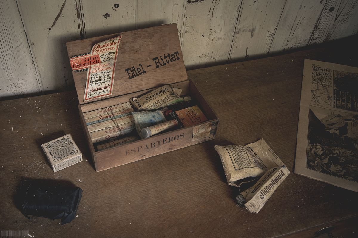 Zigarrenbox aus Kuba