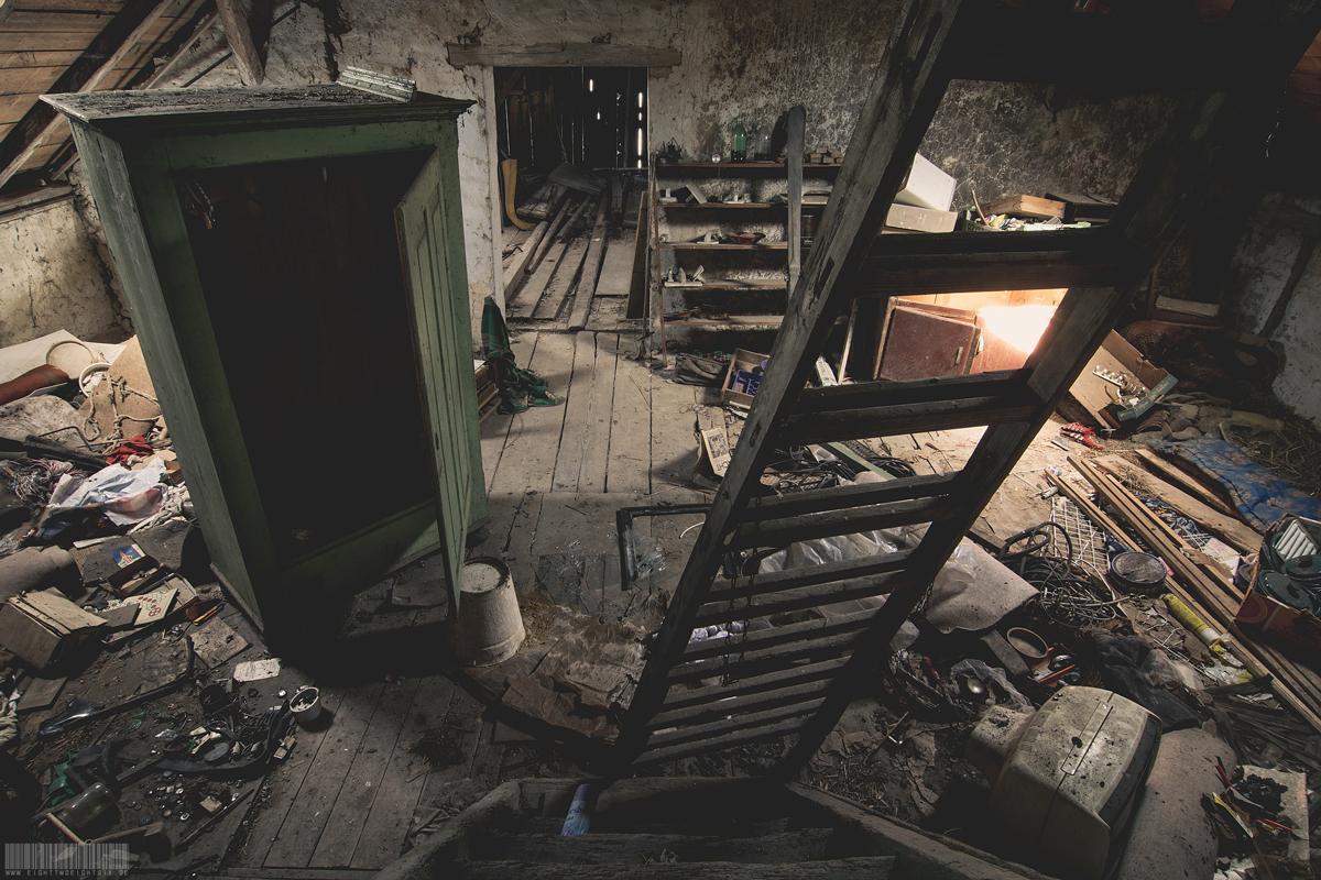 Die Werkstatt auf dem Dachboden