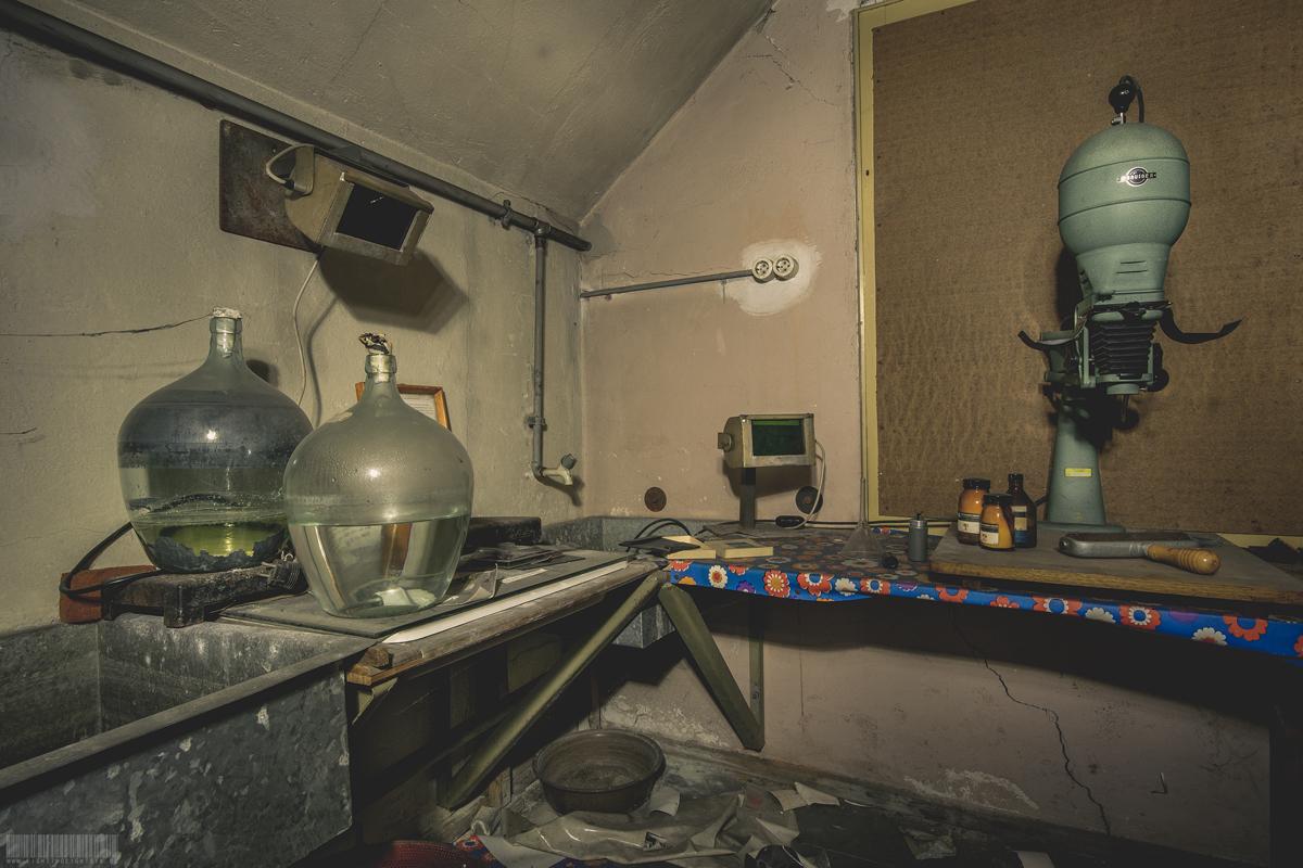 verlassenes Fotolabor