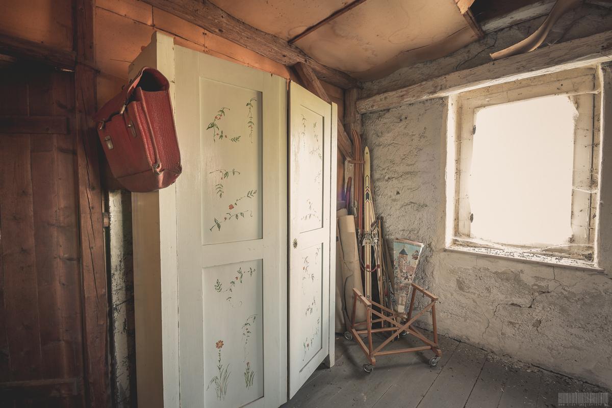 Dachbodenkammer