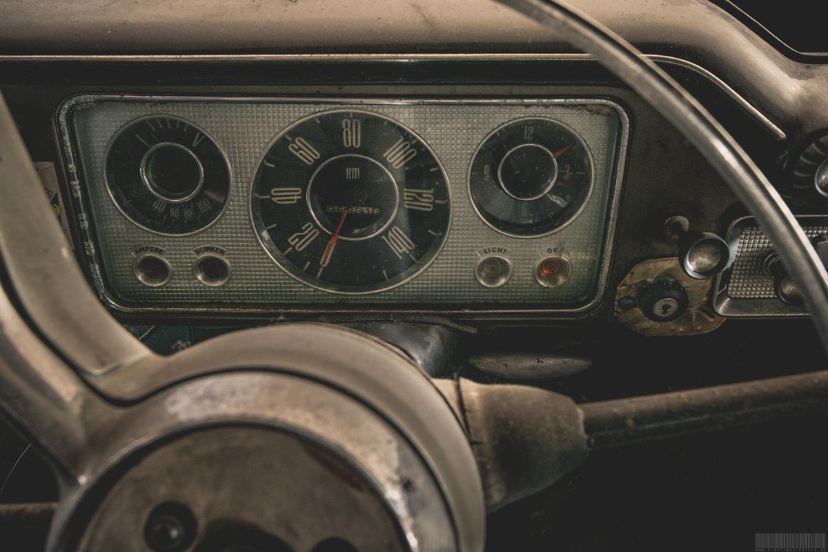 Opel Kapitän 56/57 Interieur