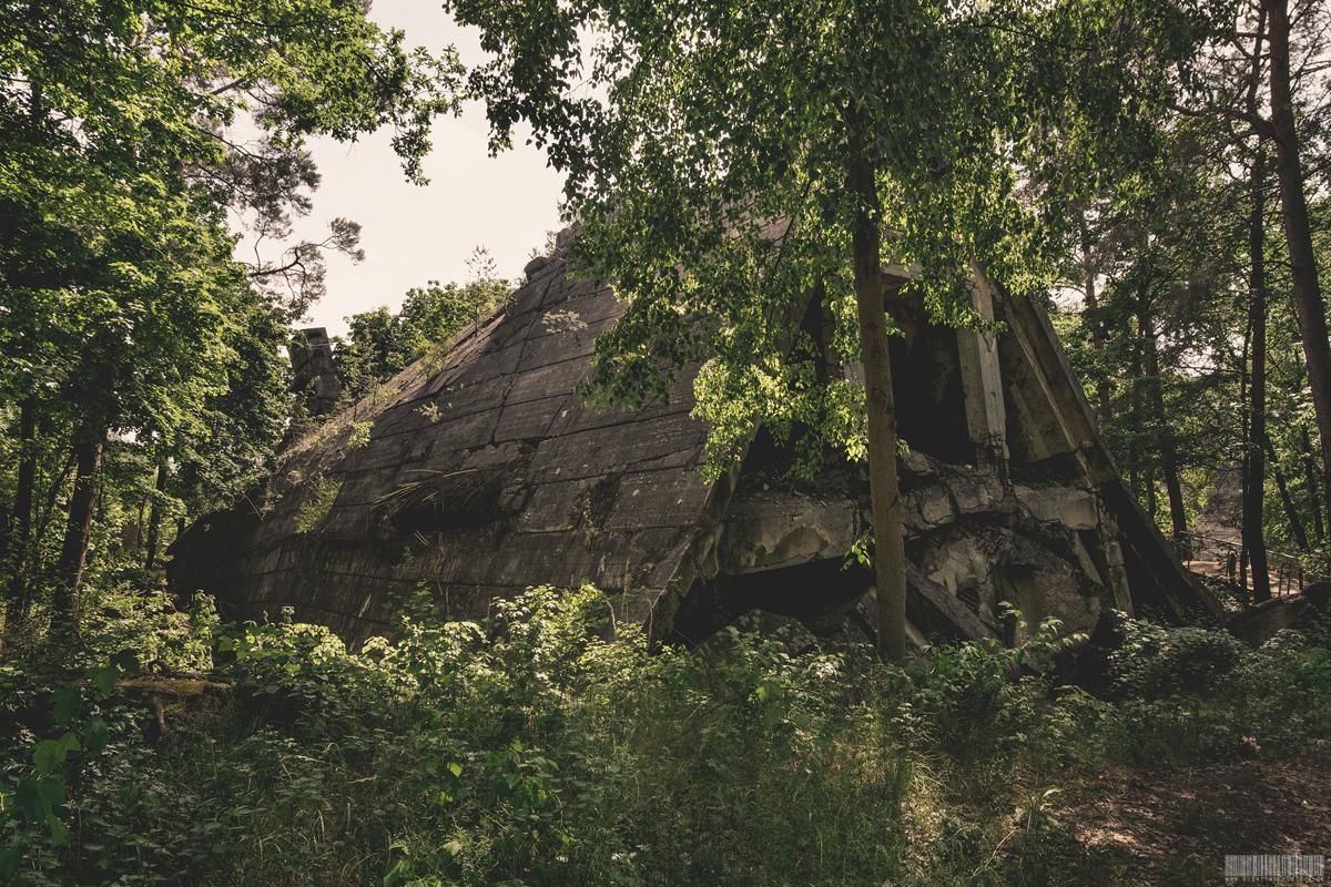 Bunker getarnt als Landhaus