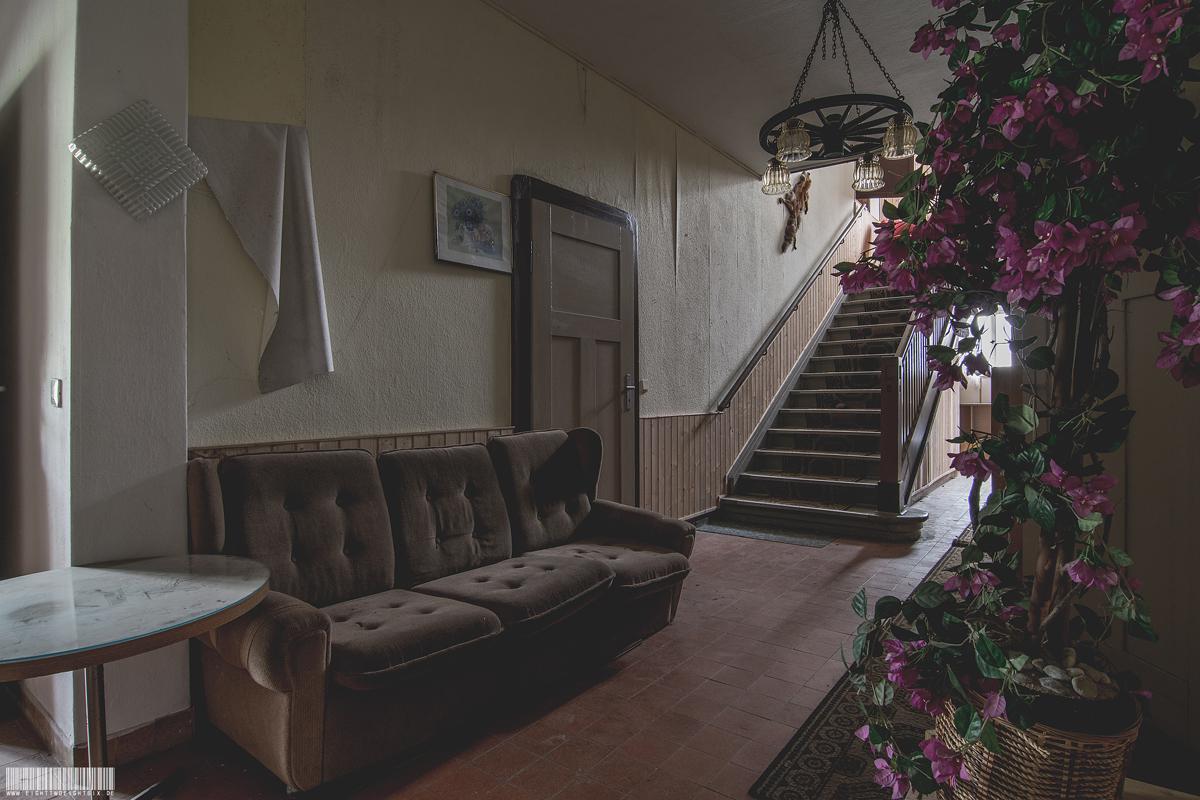 Sofa im Gästehaus
