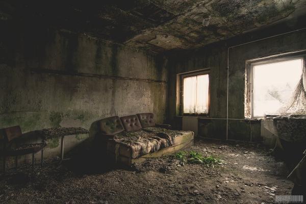 vermoostes Zimmer