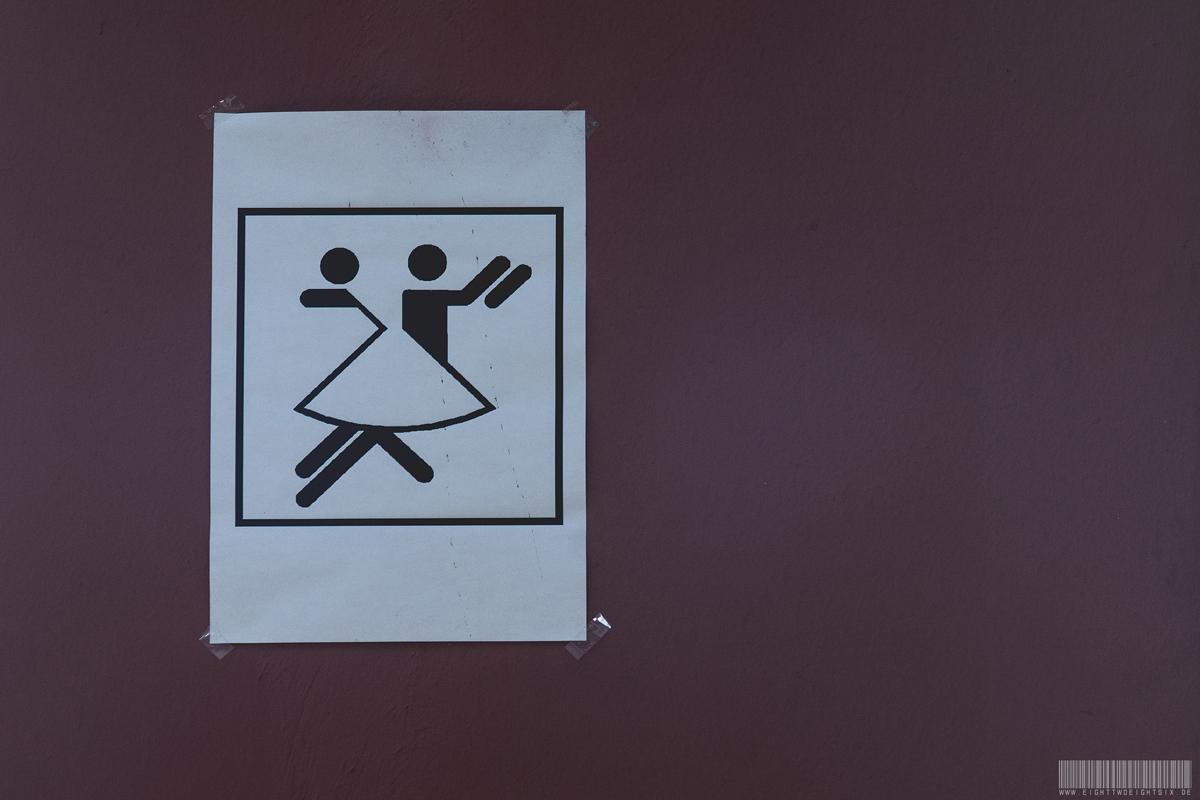 Hinweis zum Tanzen