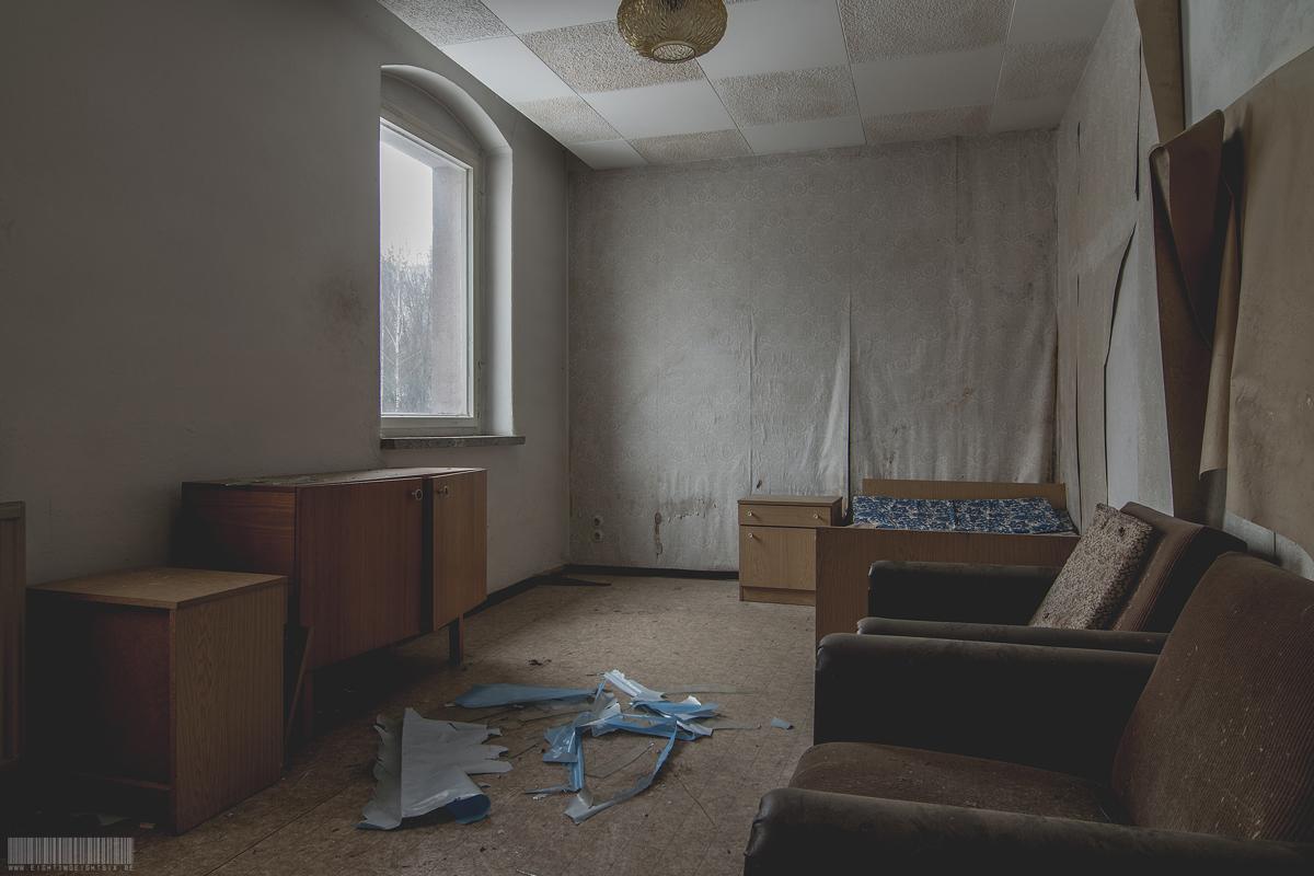 altes Hotelzimmer