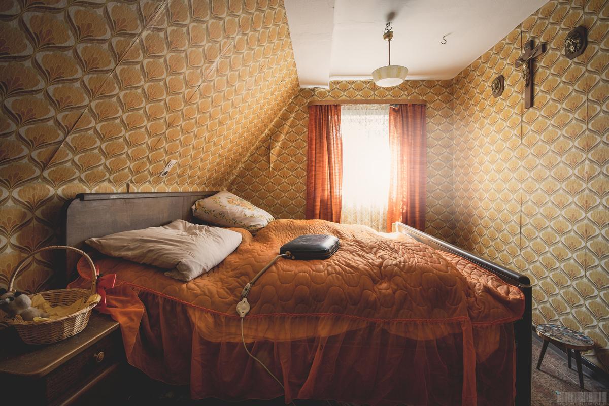 Schlafzimmer des Busfahrers