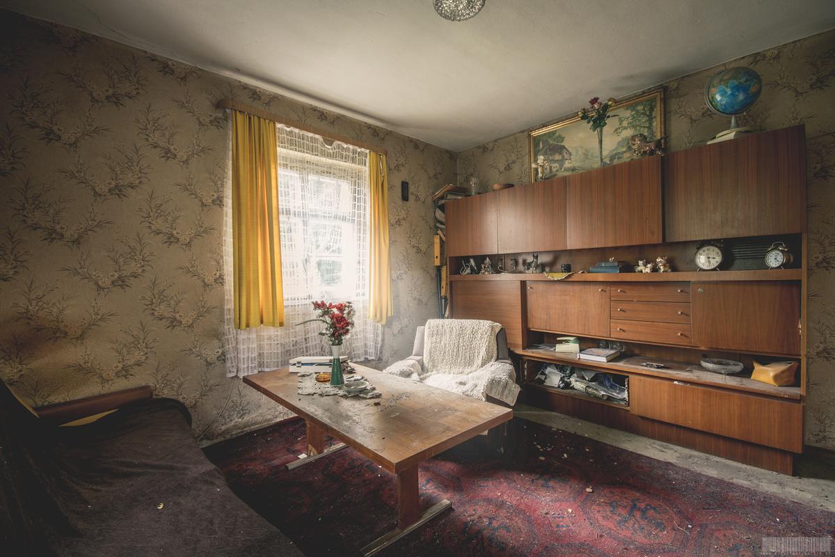 Wohnzimmer Lost Place