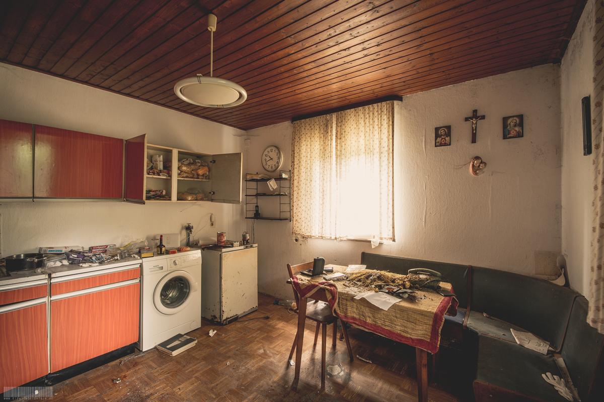 Verlassene Küche
