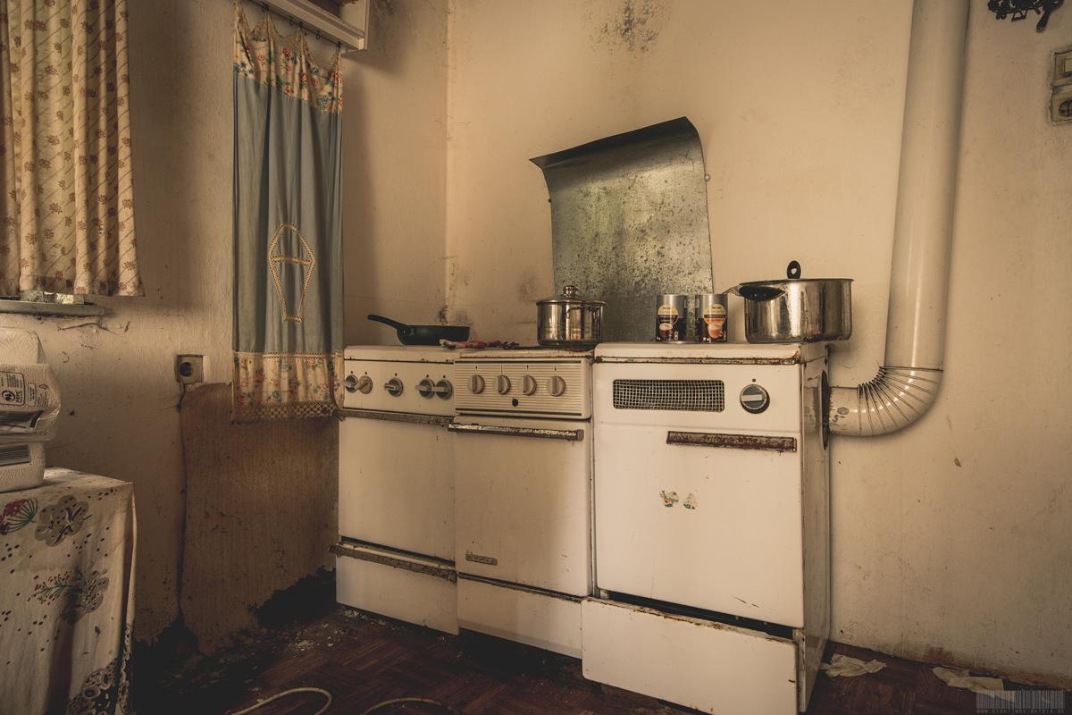 Alte Küchengeräte