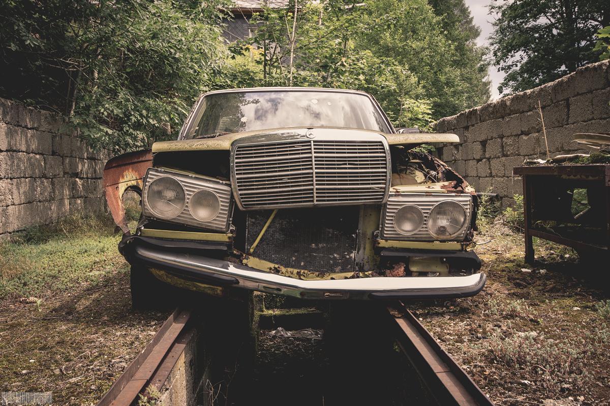 Vergessener Mercedes W123