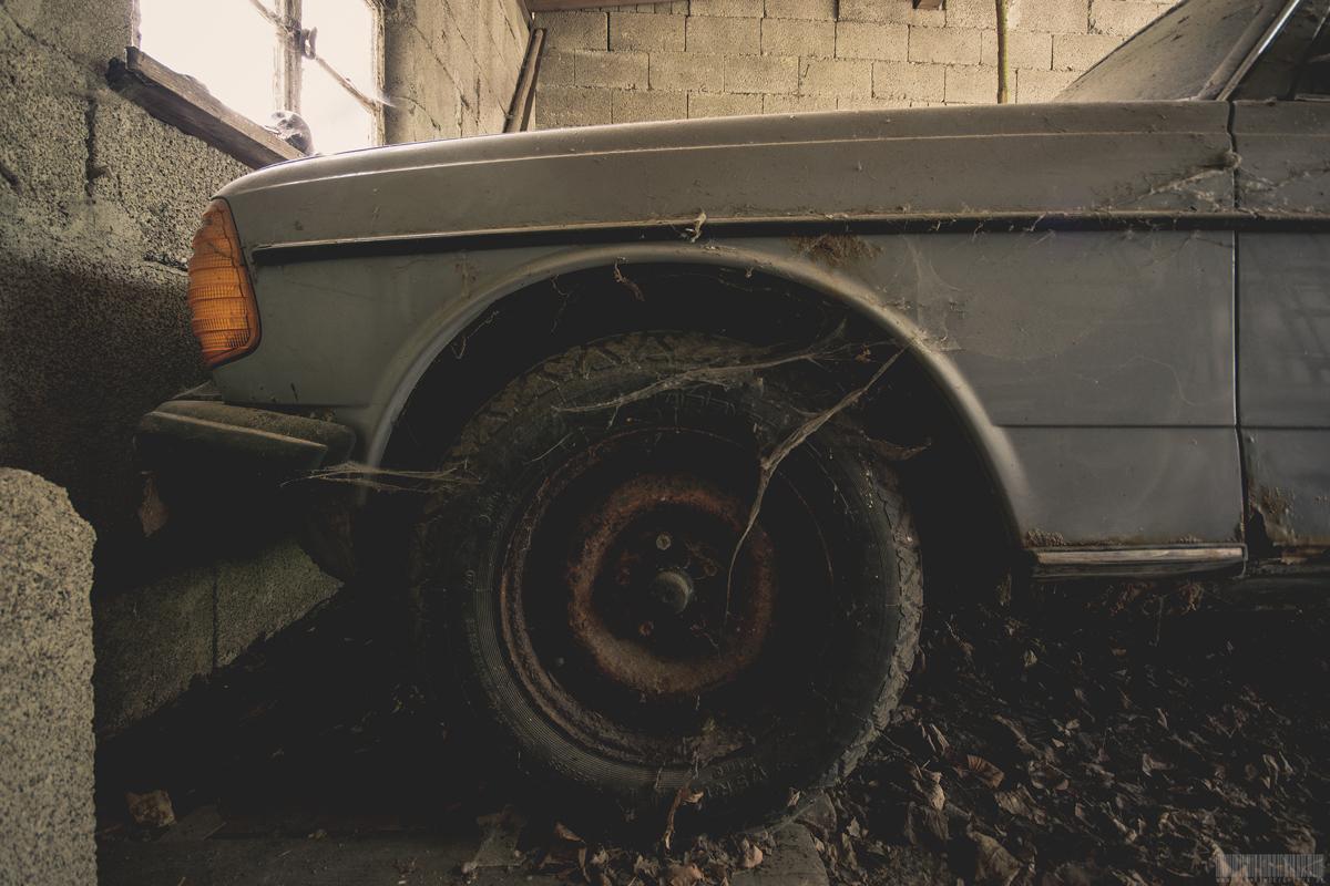 Front Mercedes S-Klasse W116