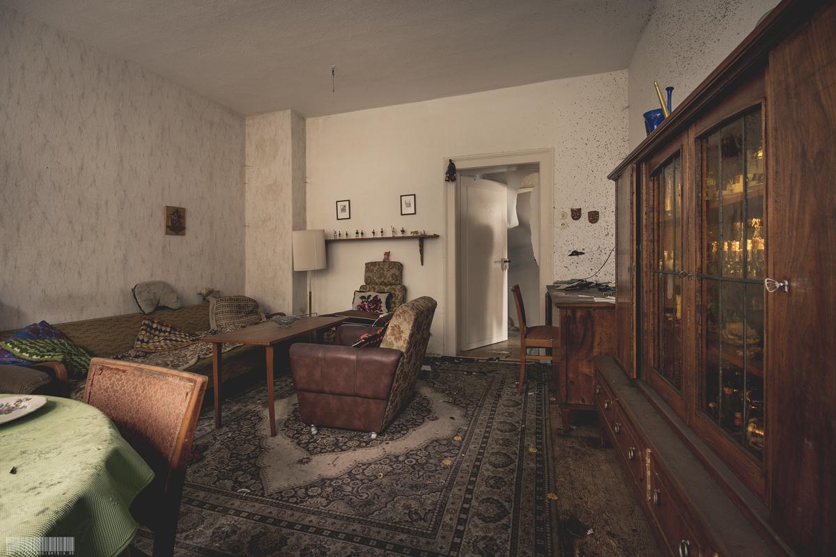 Wohnzimmer des Schnitzers