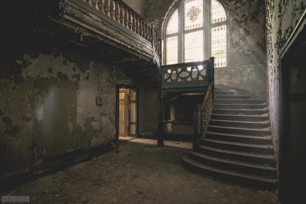 Der Flur im Herrenhaus