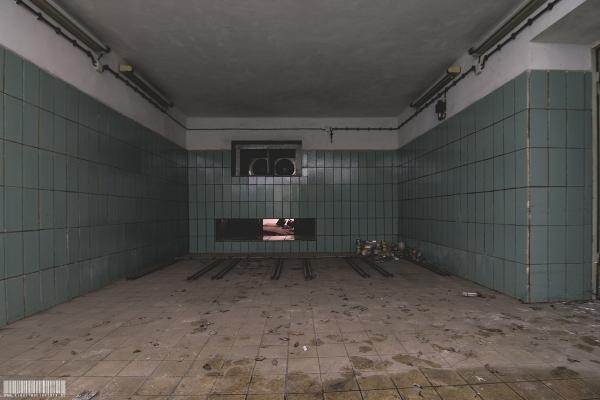 Leichenhalle