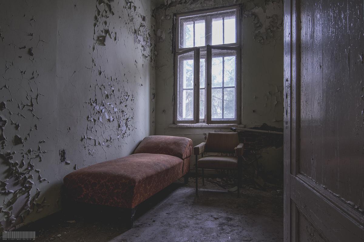 Zimmer mit Liege