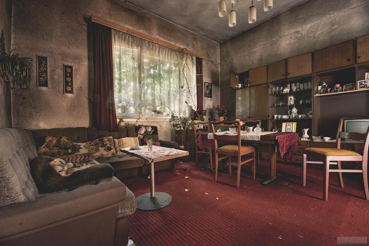 Wohnzimmer von Karl und Margarete