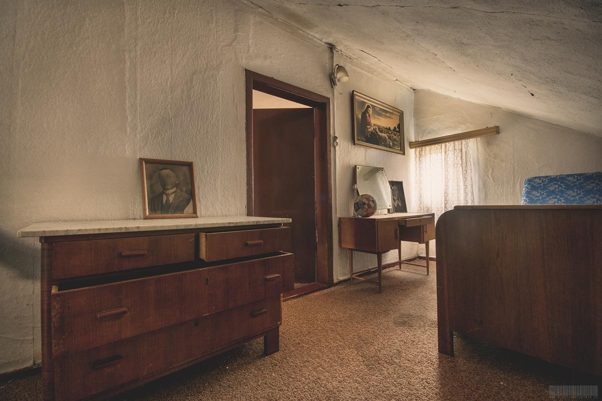 Schlafzimmer von Franz