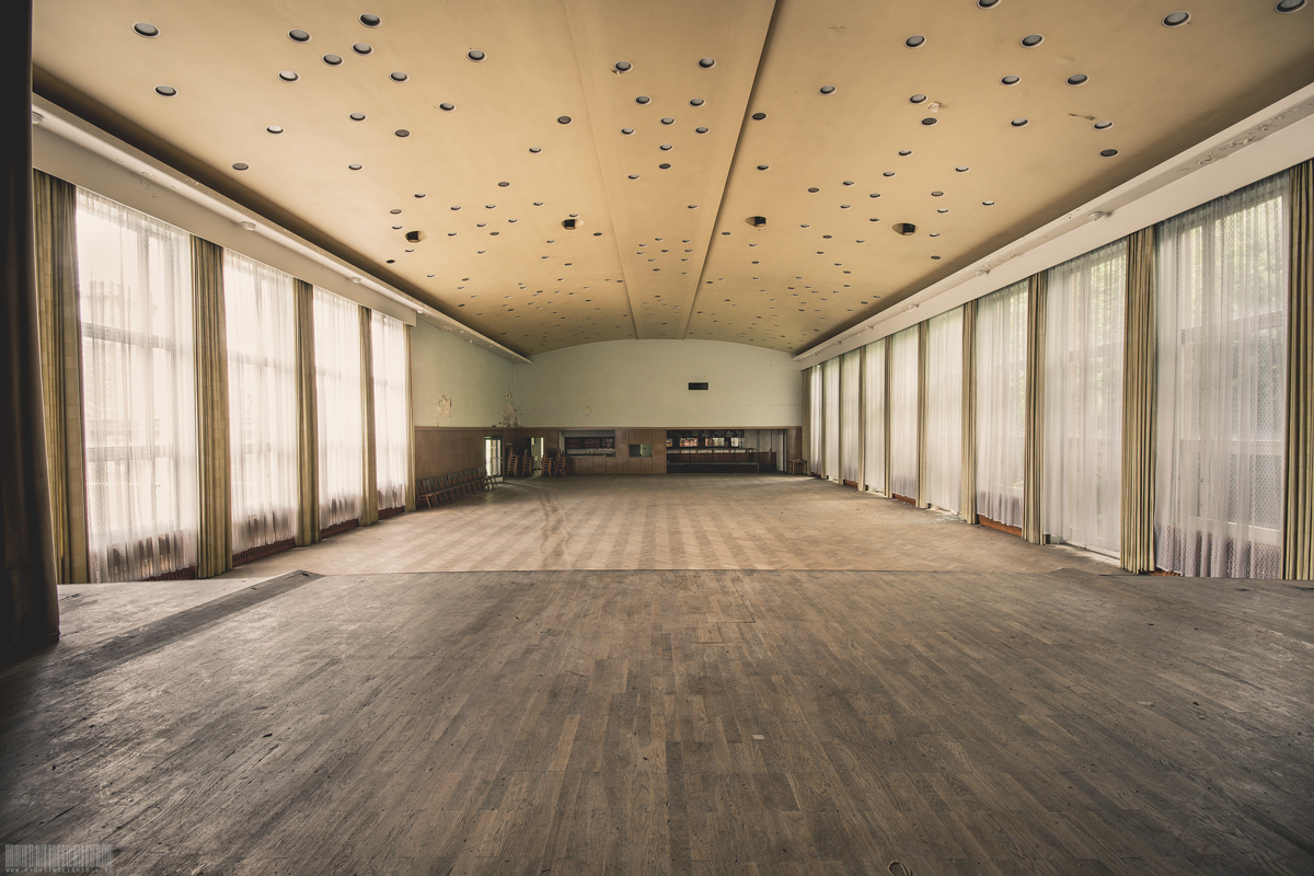 verlassenes Kulturhaus