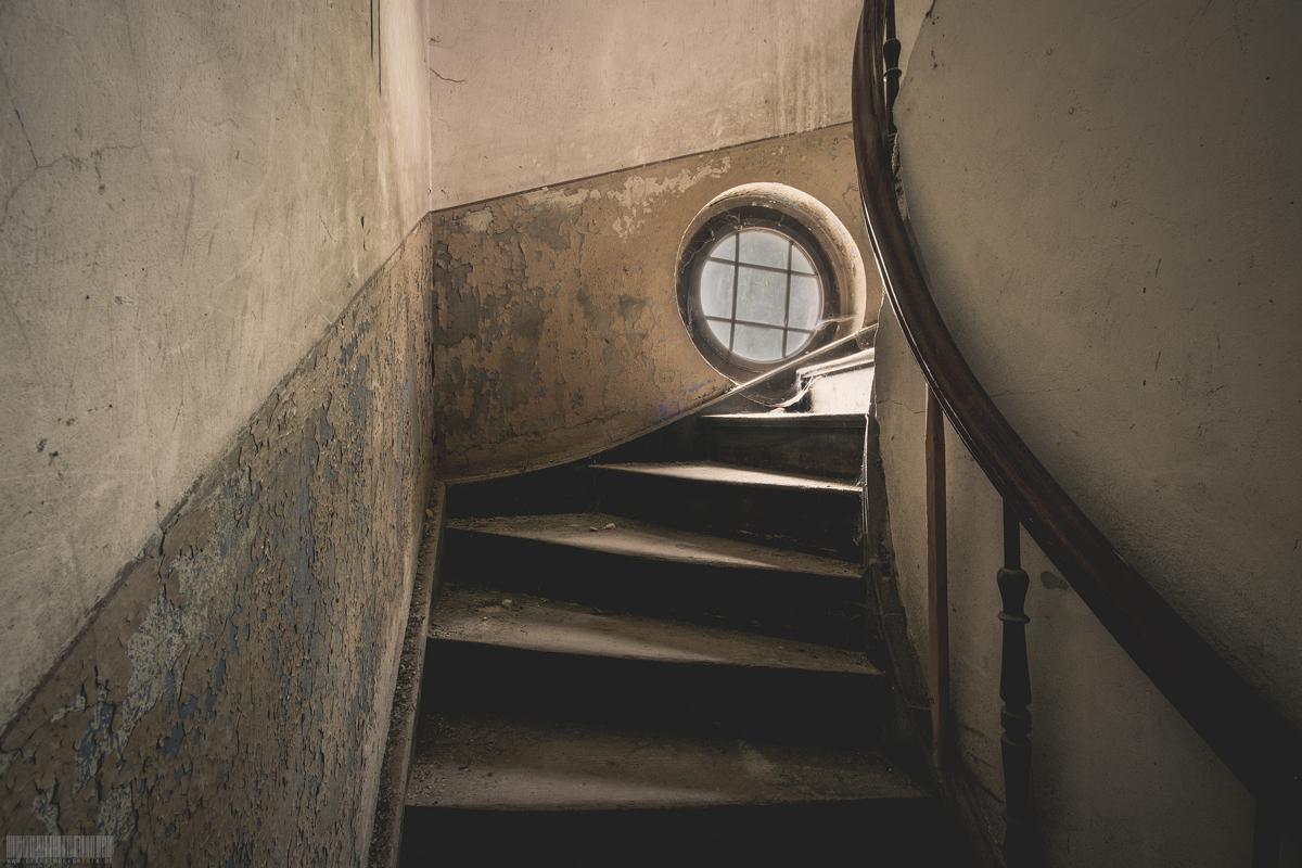 Aufgang zum Dachgeschoss