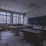 Verlassene Berufsschule