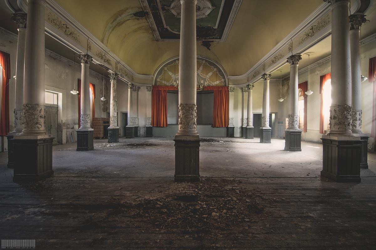 Das ehemalige Schenkgut - Lost Place Sachsen - verlassene Gaststätte Gasthof - Zum goldenen Adler - Heyda
