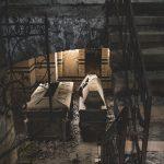 Verfallenes Mausoleum