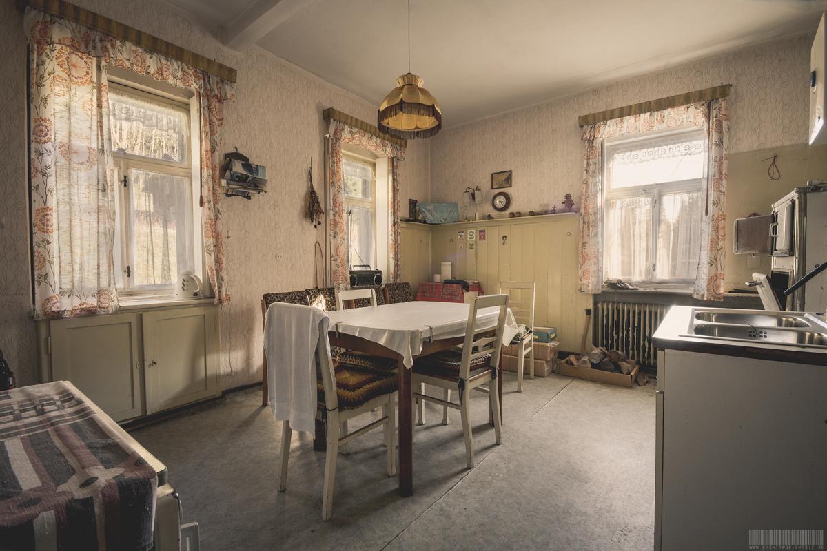 Verlassenes Wohnhaus in Sachsen - Verlassene Gebäude Orte Sachsen Lost Places - Haus des Fischers