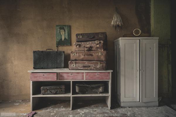 Das verlassene DDR Museum - abgebrannter Antiquitätenhandel in Thüringen - Lost Places Greiz