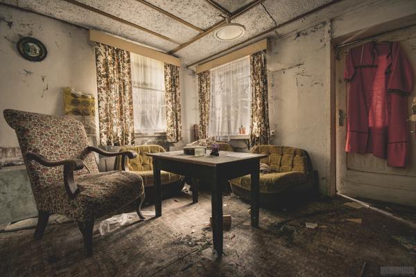 verlassenes Wohnhaus in Thüringen - Haus der Mormonen - Mansion Vetter - Lost Places Thüringen