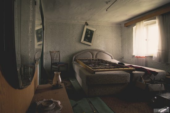 verlassenes Bauernhaus Vogtland Sachsen Lost Place leerstehendes Bauerngut urbex