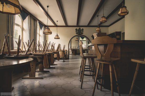 verlassenes Hotel Sächsischer Hof - Lost Place in Sachsen
