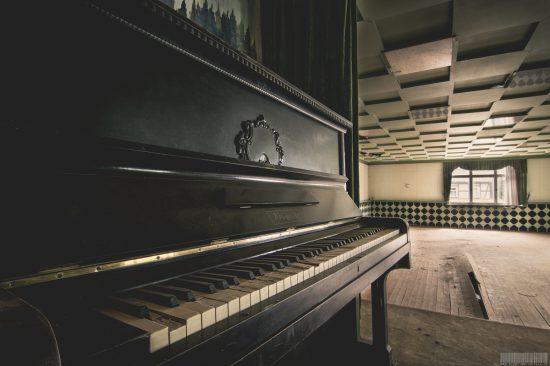 Hotel Auerbach Erzgebirge Hotel Harmonie Lost Place Sachsen verlassener Ort