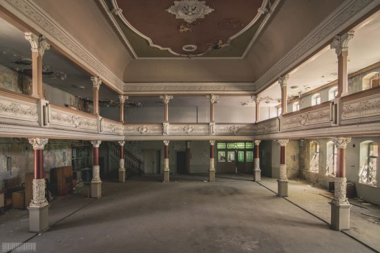 Ballsaal der Engel in Sachsen - verlassene Gebäude und Orte - Lost Place