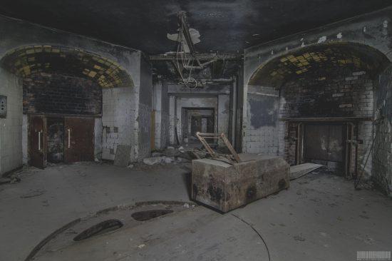 verlassenes Krematorium in Dessau in Sachsen-Anhalt - Lost Place